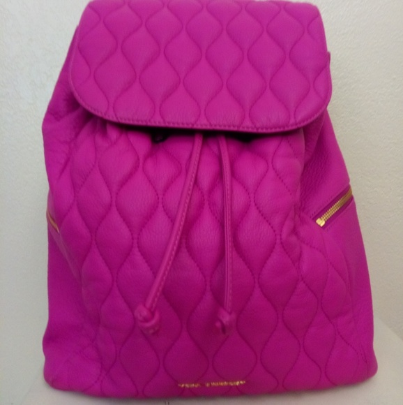 6fa737885 Vera Bradley Bags | Quilted Leather Amy Backpack | Poshmark